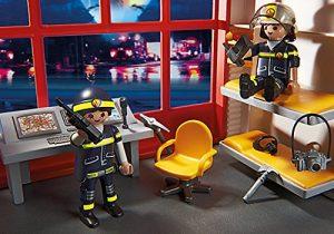 Caserne de pompiers avec alarme 5361