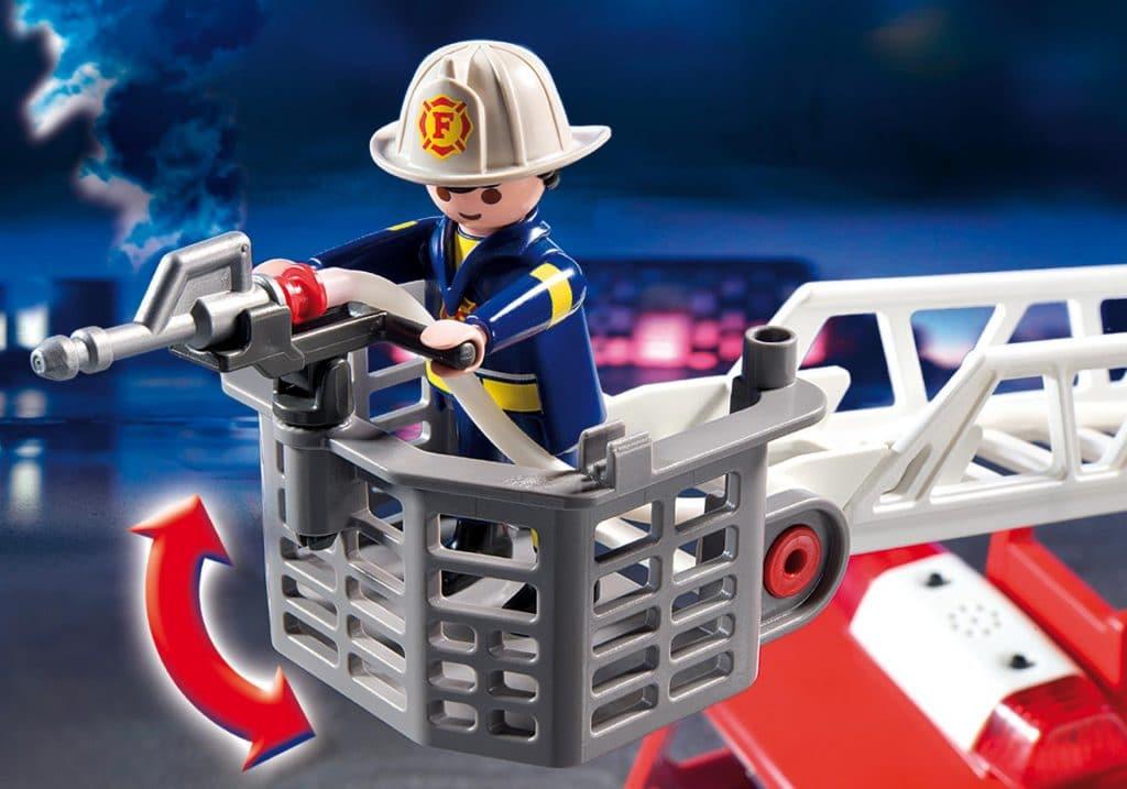 Camion de pompier avec échelle Playmobil 5682