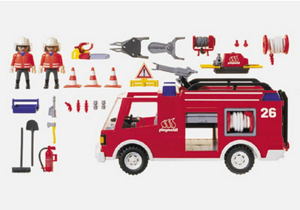 Camion de pompier avec lance à eau Playmobil 3880