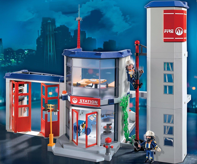Caserne de pompiers Playmobil 4819