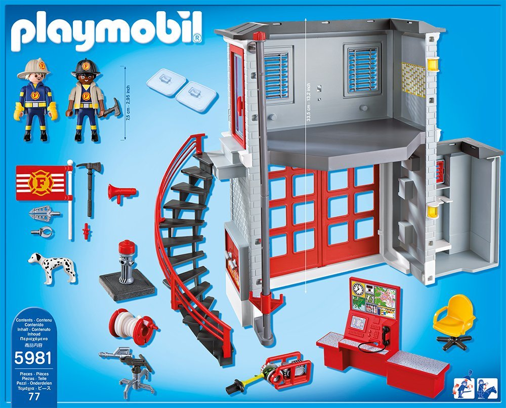 Caserne de pompiers Playmobil 5981 City Action
