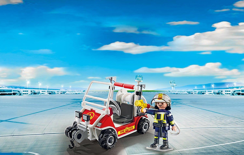 Voiturette et chef des pompiers 5398 Playmobil City Action
