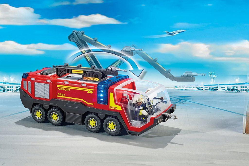 Véhicule aéroportuaire de pompiers Playmobil 5337