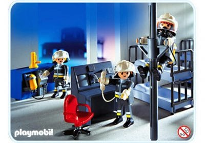 Salle d'intervention des pompiers Playmobil 3176