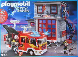 SetPlaymobil camion et caserne 9052