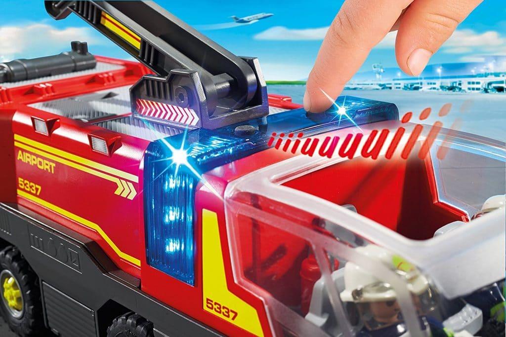 Véhicule aéroportuaire de pompiers Playmobil 5337 City Action