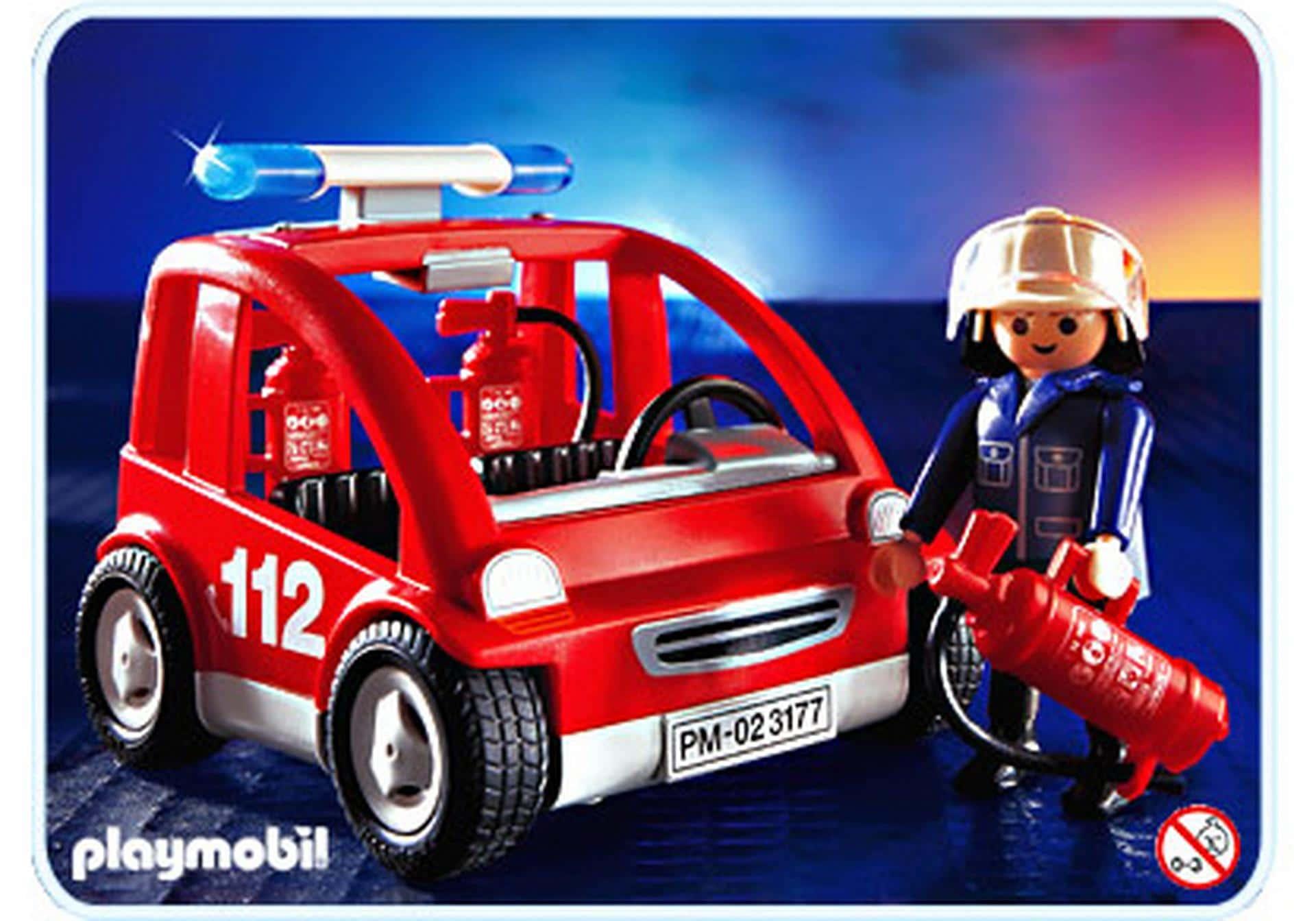 Voiturette de pompier Playmobil 3177