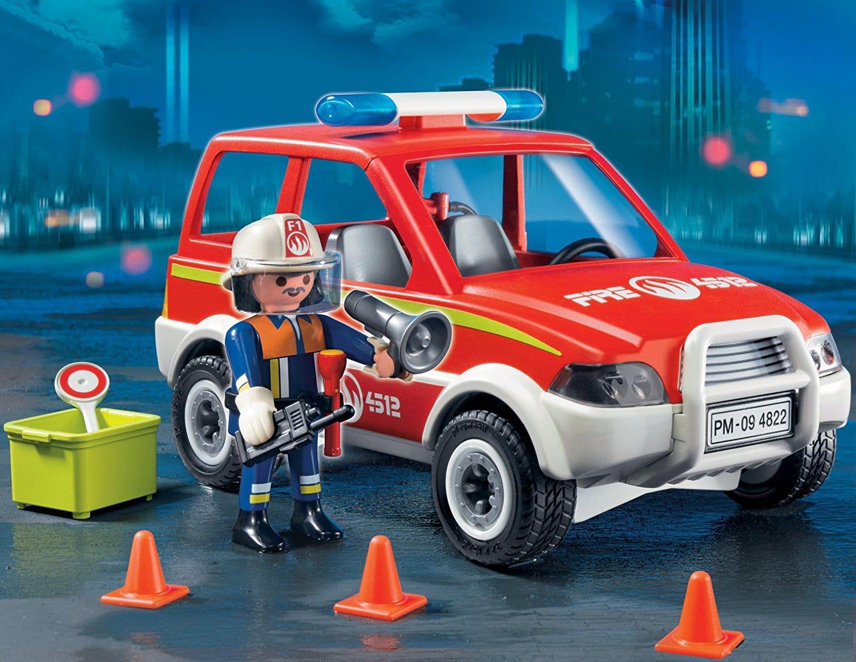 Voiture de pompier Playmobil 4822