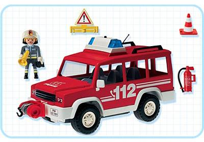 Voiture d'intervention avec pompier 3181 Playmobil