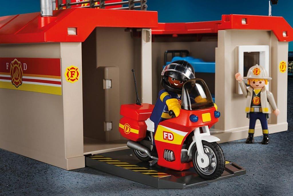 Caserne de pompiers transportable Playmobil 5663 City Action