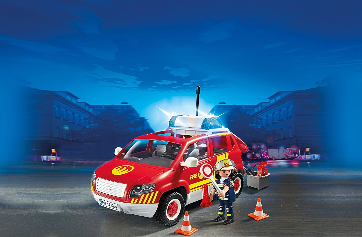 véhicule d'intervention des pompiers Playmobil 5364 City Action