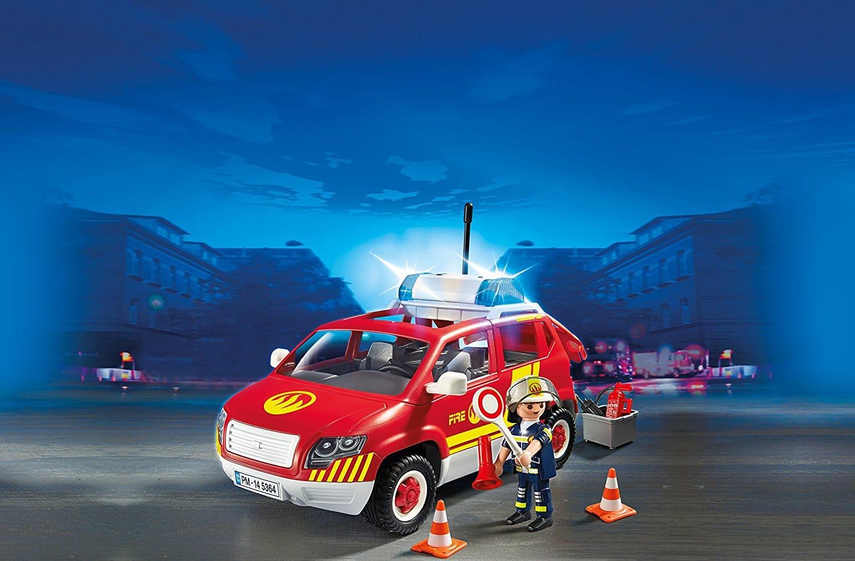 véhicule d'intervention des pompiers Playmobil 5364 City Action
