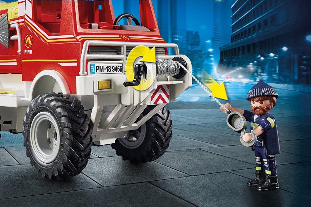 4x4 de pompier avec lance-eau Playmobil 9466