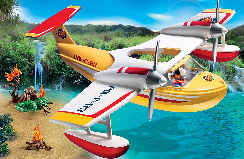 Hydravion de sauvetage Playmobil Wild Life 5560