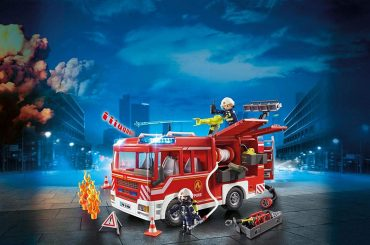 Fourgon d'intervention des pompiers Playmobil 9464