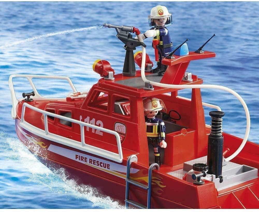 Coffret forces spéciales pompiers Playmobil 9503