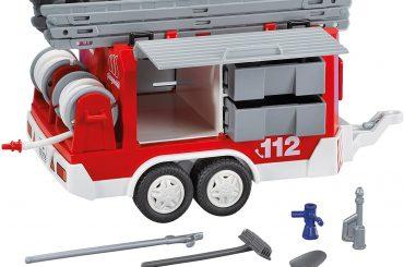 Matériel de pompiers et remorques Playmobil 7485